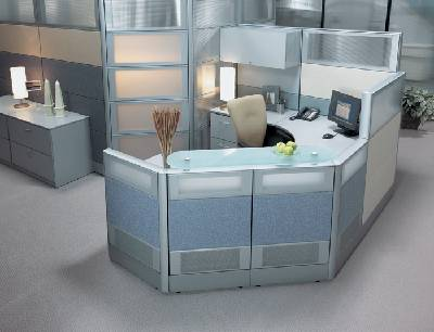 Modern Contemporary Office Cubicle Manhattan Long Island