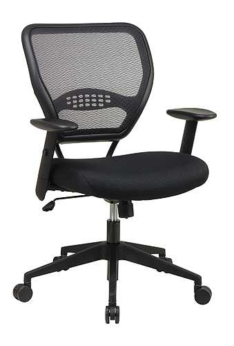 mesh back lumbar task chair