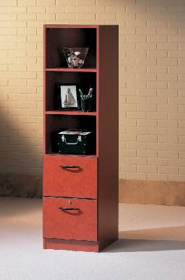 Superbe Lateral File Cabinet With Bookcase Upper Available In Different  Combinations. Shown Here As 2 Drawers With 3 Shelves.