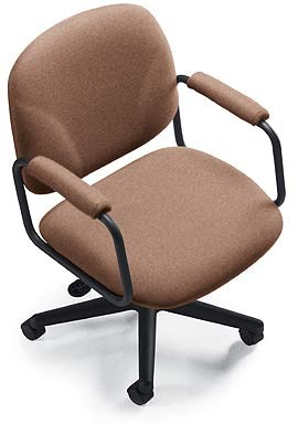 tan fabric arm chair