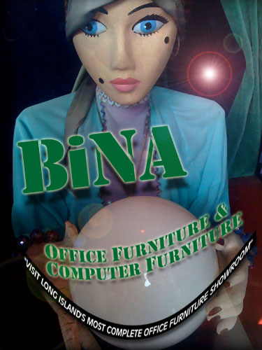 visit BiNA Office Furniture showroom