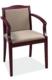 wood frame side chair
