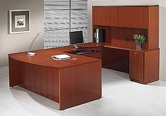Monterrey Wood Veneer Desk