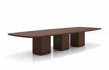 NYC Boatshape Laminate Conference Table : Bina Office Furniture, New ...