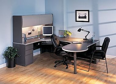 u-shape workstation desk