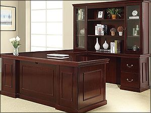 Pleasing Jefferson Traditional Wood Veneer Desk Bina Office Home Interior And Landscaping Synyenasavecom