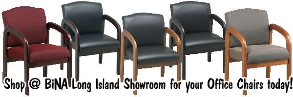 bina discount office furniture: wood frame guest vistor arm chairs
