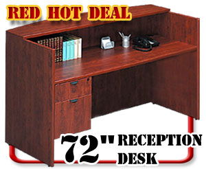 inexpensive reception desk