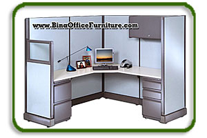 corner cubicle desk
